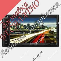 Автомагнитола SHUTTLE SDUD-6955 Black/Green MP5 ресивер 2DIN