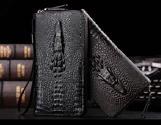 Мужской кожаный клатч - портмоне Lacoste
