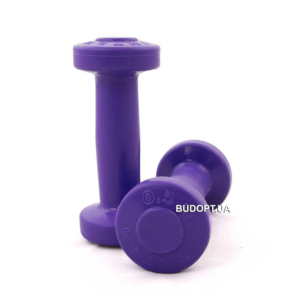 Гантели для фитнеса OSPORT Титан 0.5 кг (FI-0094-0.5) - O-SPORT - спортивные товары оптом и врозницу в Харькове