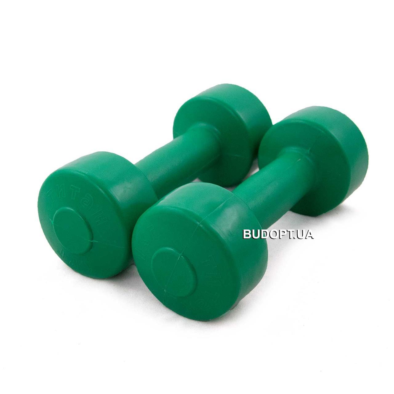 Гантели для фитнеса OSPORT Титан 1 кг (FI-0094-1) - O-SPORT - спортивные товары оптом и врозницу в Харькове