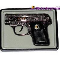 Зажигалка пистолет 1609
