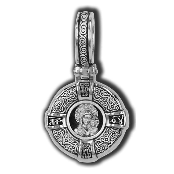 Образок. Казанская Икона Божией Матери.