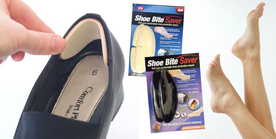 Защитные вставки в обувь от натирания пятки Shoe Bite Saver