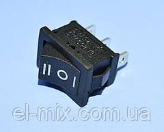 Выключатель KCD1-103-2 (MRS-103) черный 1-группа ON-OFF-ON