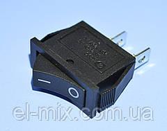Выключатель KCD3-101 (RS-101) черный 1-группа OFF-ON, Daier
