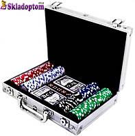 Покерный набор 200 (в алюминиевом кейсе на 200 фишек)