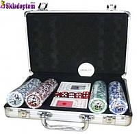 Покерный набор 200N (на 200 фишек с номиналом)