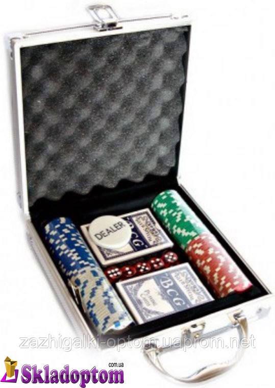 Покерный набор 100 (в кейсе)