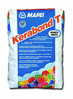 Клей полимерный порошковый на цементной основе для керамической плитки - Kerabond T Mapei | Керабонд Т Мапей
