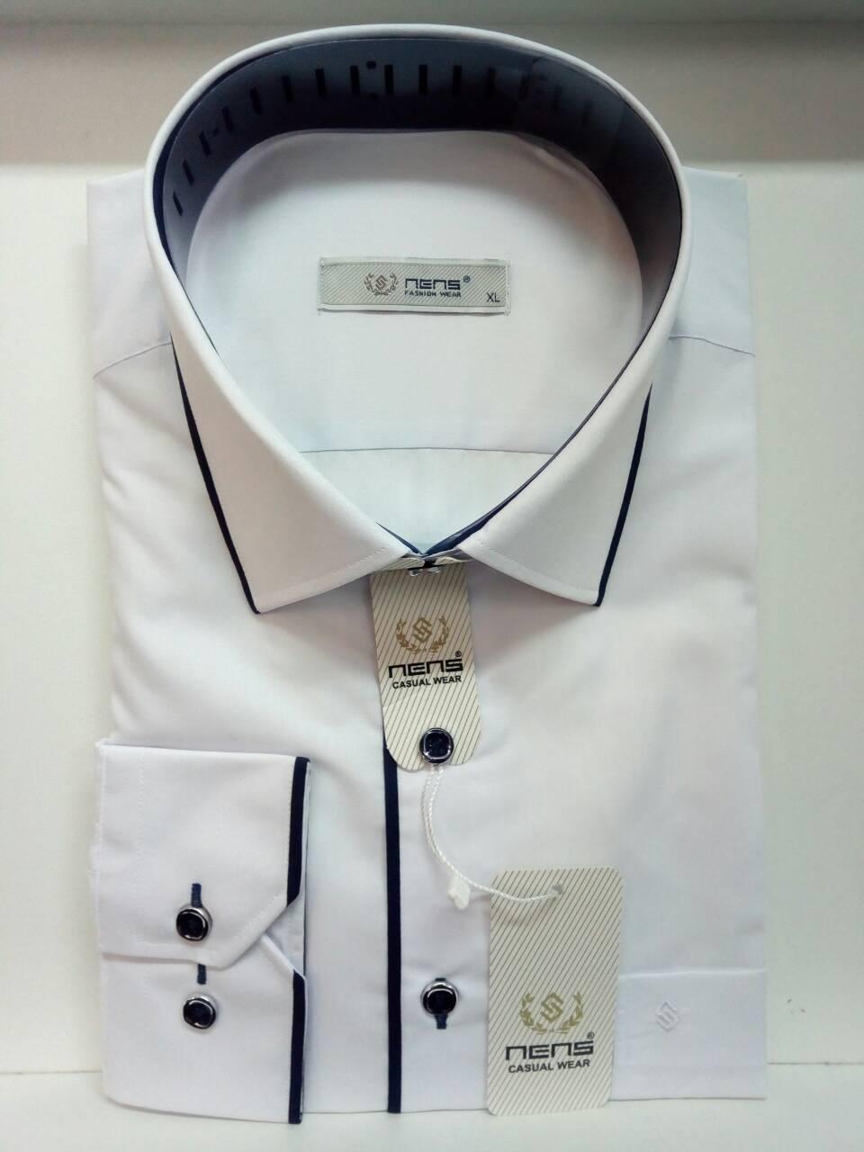 Однотонная рубашка Nens classik