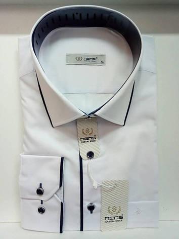 Однотонная рубашка Nens classik, фото 2