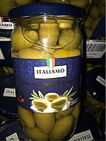 Оливки с косточкой, 700 грамм, Италия