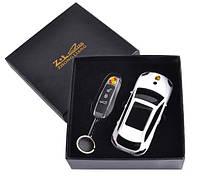Подарочный набор 2в1 Сувенирная зажигалка + зажигалка-брелок Porsche Cayenne 4626