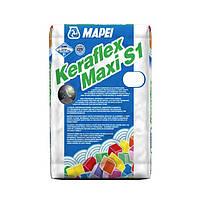 Однокомпонентный клей на цементной основе для облицовки - Keraflex Maxi S1 Mapei | Керафлекс Макси С1 Мапей