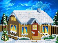 В деревне. Зимой