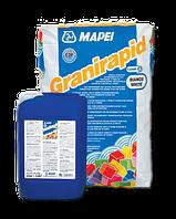 Двухкомпонентный полимерный клей для внутренних и наружных работ - Granirapid Mapei | Гранирапид Мапей