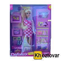 """Кукла для детей от 3 лет """"Defa Lucy"""" с аксессуарами"""