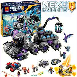 "Конструктор Nexo Knights Bela 10597 ""Штаб Джестро"" 878 деталей."