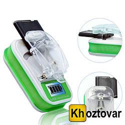 """Универсальное зарядное устройство """"Жабка"""" с LCD и USB"""