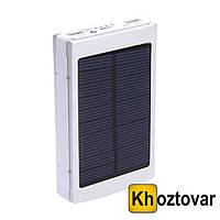 Внешний аккумулятор с фонариком | Повербанк | Power Bank Solar Charger 30000 mAh