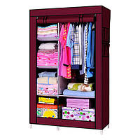 Мобильный тканевой шкаф для одежды HCX Storage Wardrobe №88