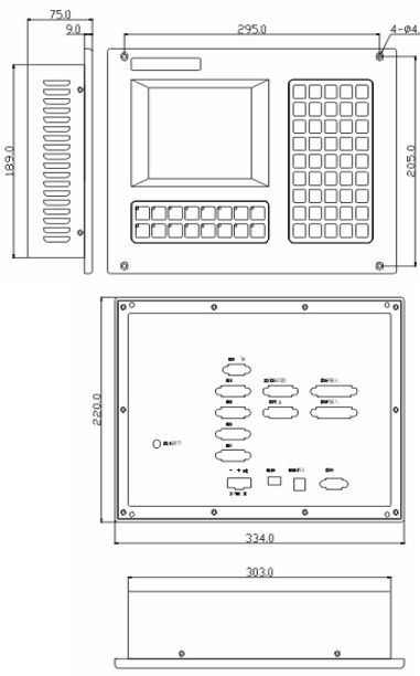 Система ЧПУ CNC4640 для фрезерных станков