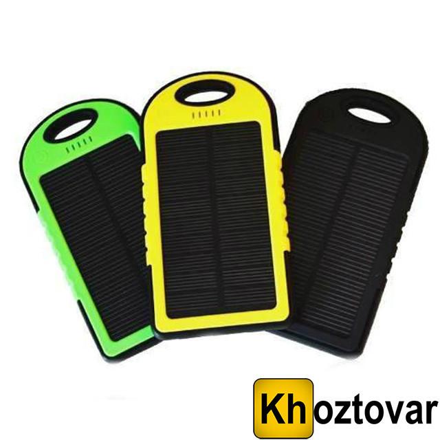Внешний аккумулятор Power Bank Solar Charger 20000 mAh