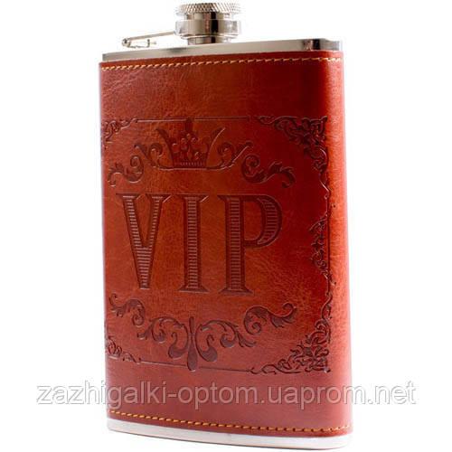 Фляга обтянута кожей VIP BP-9 (256ml)