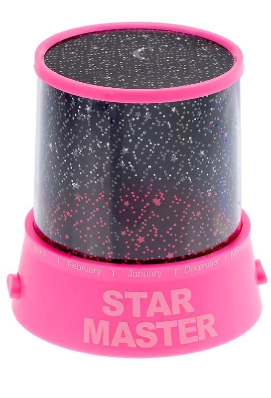 "Ночник ""Звездное небо"" Star Master | Стар Мастер Розовый"