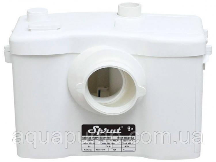 Канализационная установка Sprut WCLIFT 600/2F Hot бытовая