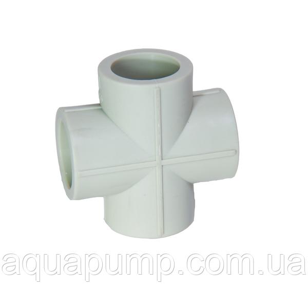 Хрестовина PPR 32 196/24 GRE Aqua Pipe