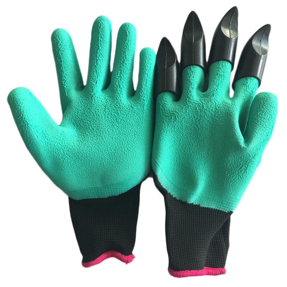 Садовые перчатки c когтями Джени Гловес | Garden Genie Gloves