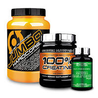 Гейнер SN Jumbo Hardcore (1530gr) | SN 100% Creatine monohydrate(300 г ) | Mega Daily One Plus 60 tab.