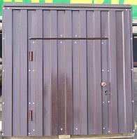 Крышка для колодца (диаметр кольца 1 м) светло-коричневый матовый, фото 1