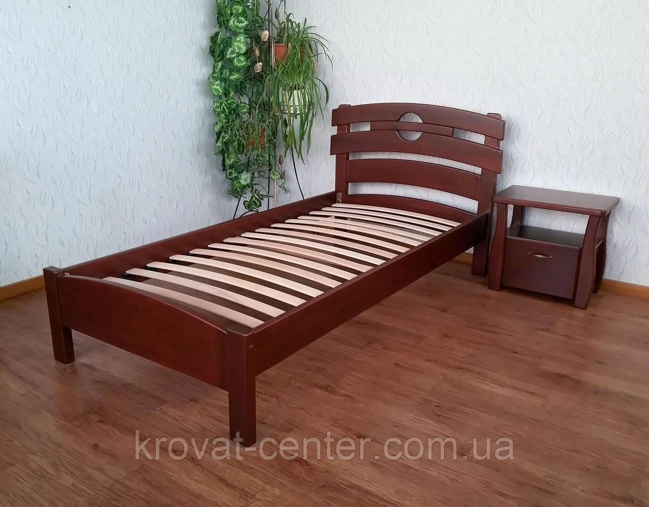 """Односпальная кровать из натурального дерева от производителя """"Токио"""""""