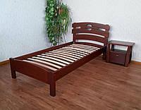 """Односпальная кровать из натурального дерева """"Токио"""" от производителя"""