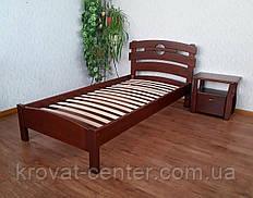 """Односпальне ліжко з натурального дерева від виробника """"Токіо"""""""