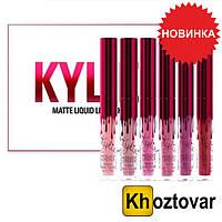Набор жидких матовых помад Kylie Valentine's Day Red Mini Mattes Liquid Lipstick