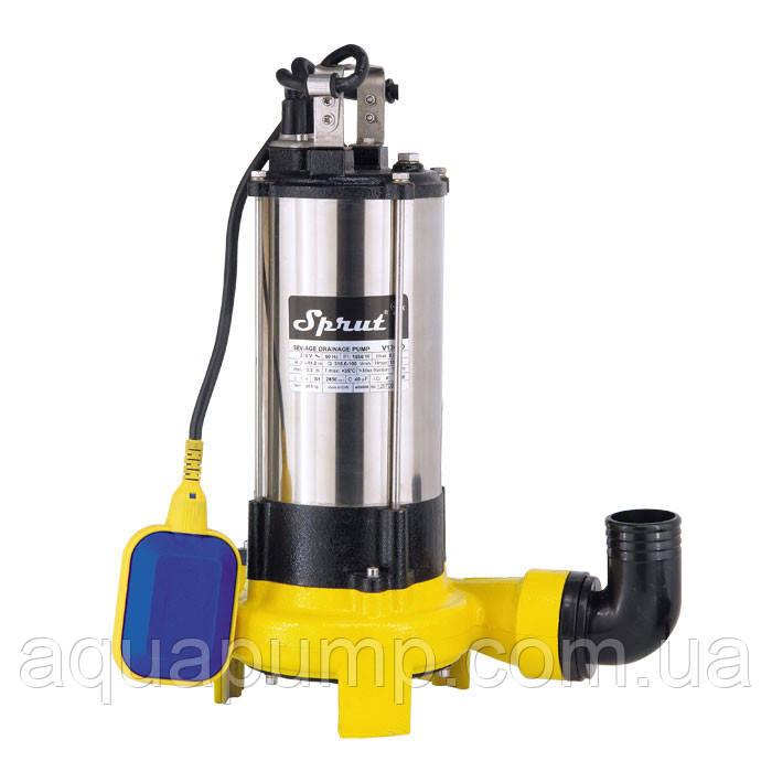 Дренажно-фекальный насос Sprut V1300D 1,5кВт