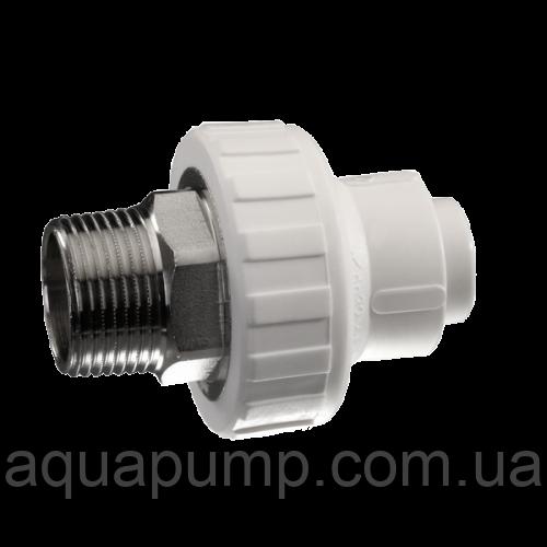 Муфта соед. с нар.резьбой 20*1/2 RPAP5 Aqua Pert