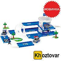 """Игровой набор для детей """"Полицейский участок"""" 3.8 м Wader Kid Cars 3D 53320"""