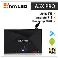 Смарт ТВ приставка A5X Pro 2G + 16G