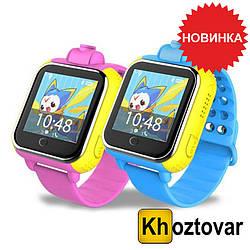 Детские смарт-часы Smart Watch TW6-Q200 с GPS Красный