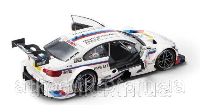 Модель автомобиля BMW M3 DTM (E92) White, Scale 1:43
