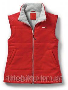 Утепленный женский жилет Volkswagen Ladies Vest GTI Red