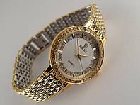 Женские часы ROLEX -  slim gold, белый циферблат, фото 1