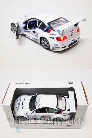 Модель автомобиля BMW M3 GT2 (E92) – Light and Sound, Scale 1:43