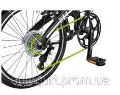 Цепь для складного велосипеда Mini Folding Bike Black - Neon Green
