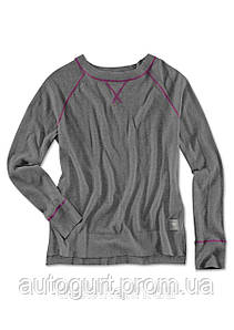 Женский вязаный джемпер BMW Knit Sweater, Ladies, Asphalt Grey Melange