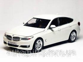 Модель автомобиля BMW 3 Series GT (F34) Alpine White, Scale 1:43